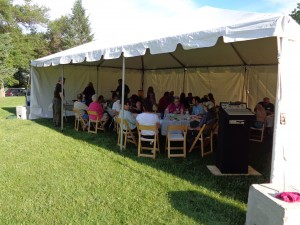 Under the tent the 2015 CPNA Annual Meeting