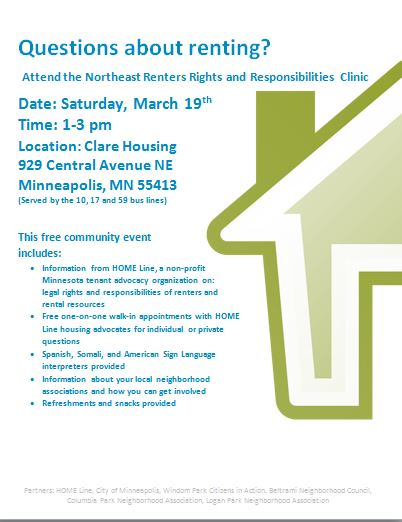 Renters Event March 2016