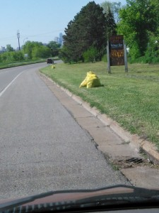 Post Adopt a Highway Clean Up MN HWY 47 better known as University AV